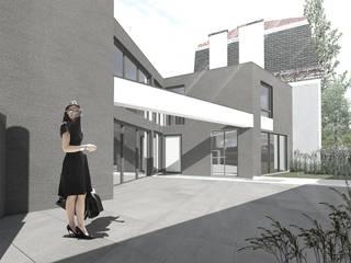 Gabriel Peri - Projecto para uma moradia de luxo por OGGOstudioarchitects, unipessoal lda Moderno