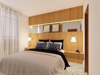 Bedroom by Fark Arquitetura e Design