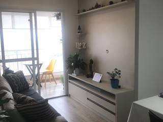 Apartamento You Parada Inglesa II: Salas de estar  por camila shiraiva . ARQUITETA E URBANISTA,Moderno