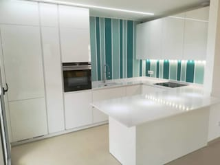 Built-in kitchens by Formarredo Due design 1967