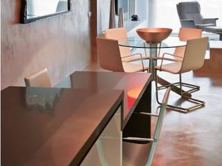 Reforma en Sant Cugat del Vallès de un penthouse por Jordi Sagalés: Cocinas integrales de estilo  de JSV-Architecture