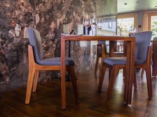 Mobiliario para restaurante Bixa de MoMé - Mobiliario México Moderno