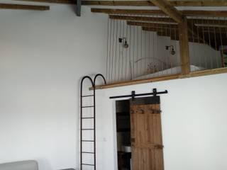 Casa da Piscina - mezanine:   por CF Arquitectura e Design