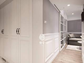 樂宅設計|羅斯福路公寓|法式古典小家庭15年16坪翻新 兩房兩廳→三房兩廳:   by 樂宅設計|系統傢俱