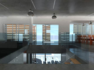 Modern living room by JoseJiliberto Estudio de Arquitectura Modern