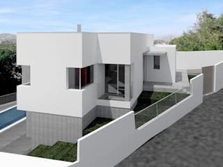 Single family home by JoseJiliberto Estudio de Arquitectura,