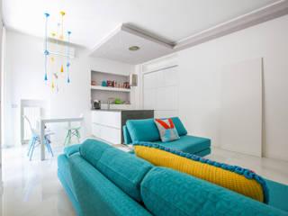 Moderne Wohnzimmer von Ristrutturazione Case Modern