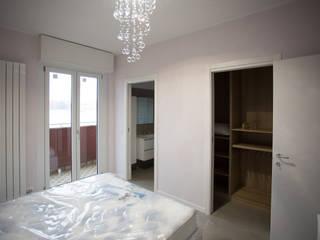Ristrutturazione Via Fratelli di Dio Milano 100mq Camera da letto moderna di Ristrutturazione Case Moderno