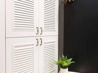 樂宅設計|新莊 冠德風尚| 小清新 兩房兩廳18坪新成屋:   by 樂宅設計|系統傢俱