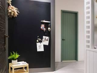 樂宅設計|新莊 冠德風尚| 小清新 兩房兩廳18坪新成屋 根據 樂宅設計|系統傢俱