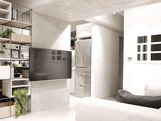 樂宅設計|景美達觀淳境|三房兩廳20坪新屋裝修 根據 樂宅設計|系統傢俱
