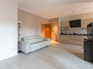 Ristrutturazione Case 现代客厅設計點子、靈感 & 圖片