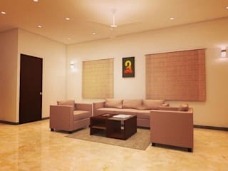 Interior Asian style dining room by Master Thought Asian