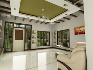 living room interior:  Living room by Master Thought