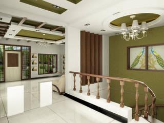 Mr.murugan residence Modern living room by Master Thought Modern