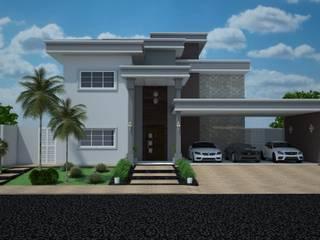 Projeto em condomínio por Construtora Lima Projetos Moderno