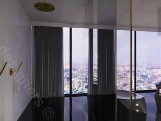 Dormitorios de estilo minimalista de Intellio designers Minimalista