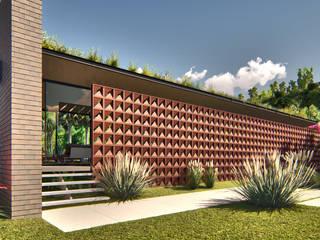 Casa Linear IEZ Design Casas pré-fabricadas