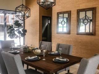 Casa Club Terrazas Salones modernos de Contempo Deco Moderno