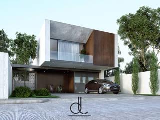 Maisons modernes par LD ARQUITECTOS Moderne