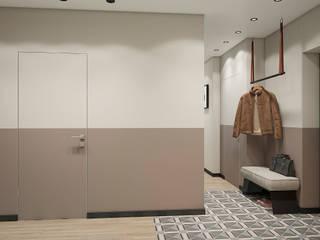 Квартира ЖК Арбатский 87 м2: Коридор и прихожая в . Автор – Дизайн Студия 33