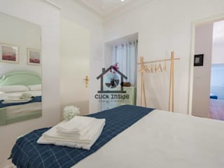 APARTAMENTO EM LISBOA (CAPUCHOS): Quartos minimalistas por Click Inside - Real Estate Photography