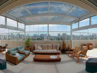 Cobertura De Vidro Edifícios comerciais modernos por Imagem Vidros Decor Moderno