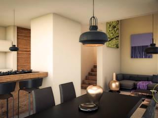 WERHAUS ARQUITECTOS Modern dining room