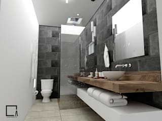 Baños de estilo  de Osuna Arquitecto, Moderno