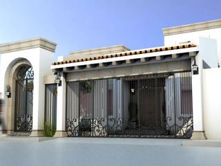 Casas de estilo  de Osuna Arquitecto, Moderno