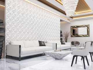 Modern living room by V Arquitectura Modern