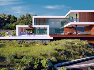 Villa in Cyprus от ALEXANDER ZHIDKOV ARCHITECT