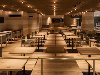 「手捏ね、削り」 モダンなレストラン の 株式会社KAMITOPEN一級建築士事務所 モダン