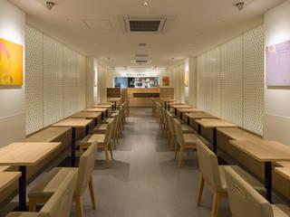 「組子」 モダンなレストラン の 株式会社KAMITOPEN一級建築士事務所 モダン