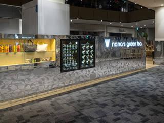 「屏風」 モダンなレストラン の 株式会社KAMITOPEN一級建築士事務所 モダン