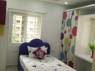 Girls Bedroom by Enrich Interiors & Decors