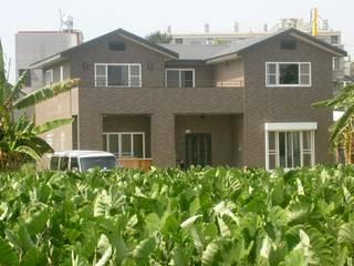 位於嘉義中埔可打造空中花園的雙塔防震建築 根據 安居住宅有限公司 北歐風
