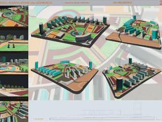Proyecto para el concurso de ordenación residencial para el ferial de almenajar en Granada de dcr arquitecto