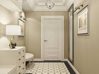 Трехкомнатная квартира в стиле современная классика: Коридор и прихожая в . Автор – L.DesignStudio