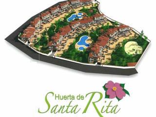 Diseño de una urbanización en la Zubia, Granada de dcr arquitecto Moderno