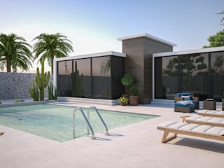 Garden Pool by Santoro Design Render