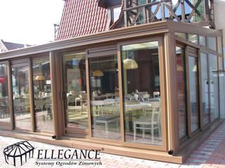 Ogród zimowy dla restauracji w Mikołajkach od Ellegance Klasyczny