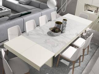 Decordesign Interiores Dining roomTables Ceramic White