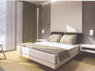 Hote Spa, Algarve - Portugal Quartos minimalistas por Design de Interiores & Arquitectura Minimalista