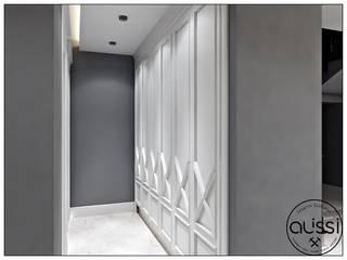Modern corridor, hallway & stairs by ALİSSİ İÇ MİMARLIK Modern
