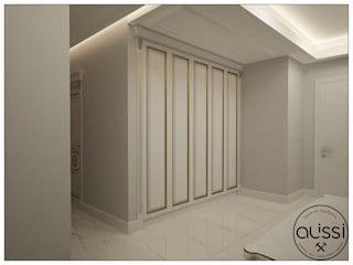 Classic style corridor, hallway and stairs by ALİSSİ İÇ MİMARLIK Classic