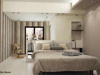 غرفة نوم تنفيذ Nocera Kathia rendering progettazione e design,