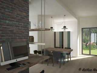 غرفة السفرة تنفيذ Nocera Kathia rendering progettazione e design,