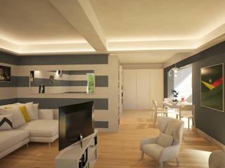 Modern Oturma Odası Arch. Francesco Antoniazza - Il bello della casa ..................... di una volta Modern