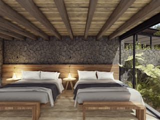 by C_arquitectos Modern Stone